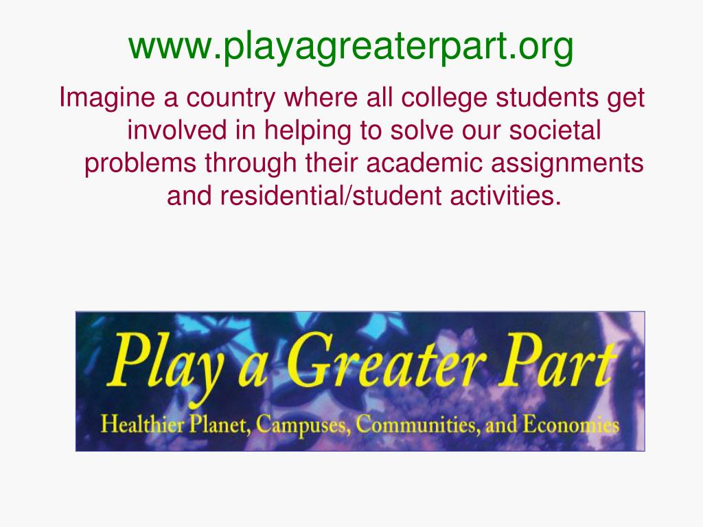 www.playagreaterpart.org