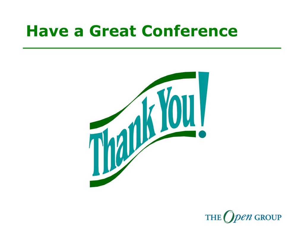 Have a Great Conference