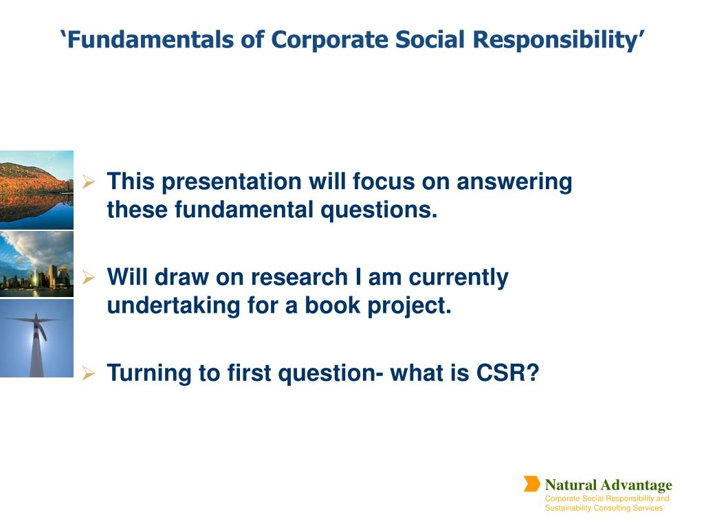This presentation will focus on answering these fundamental questions.