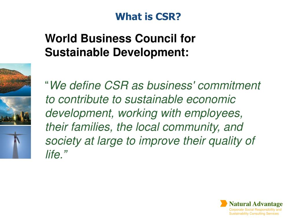 World Business Council for Sustainable Development:
