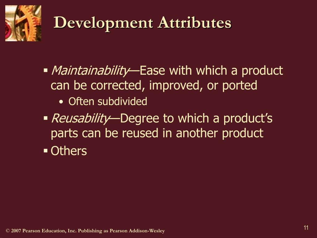 Development Attributes