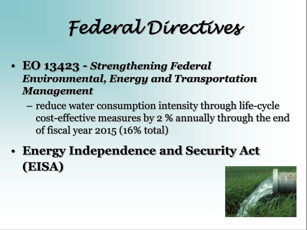 Federal Directives