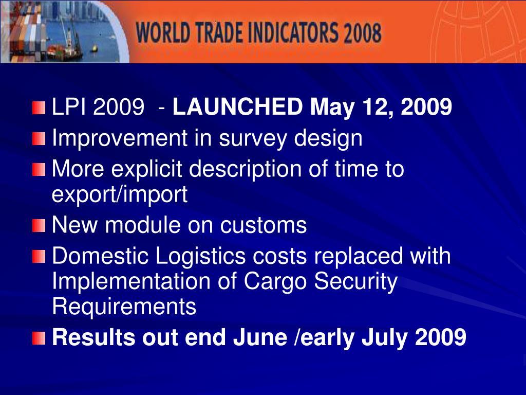 LPI 2009  -