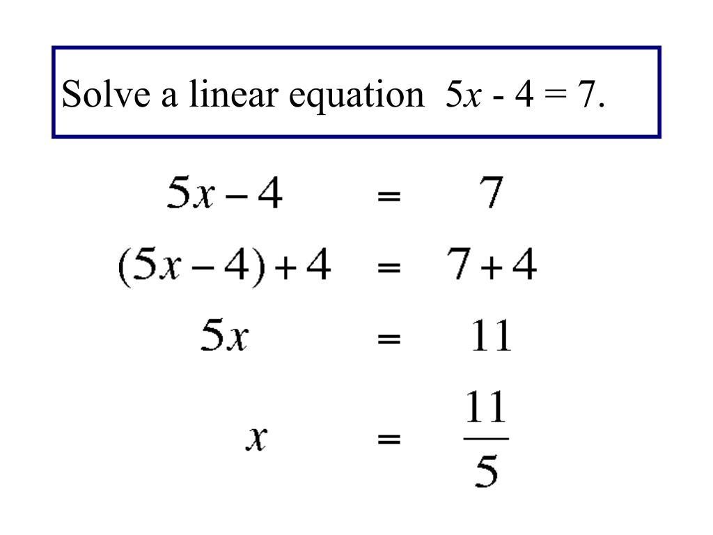By Drawing The Line Y Solve The Equations : Ppt solving equations using a graphing utility