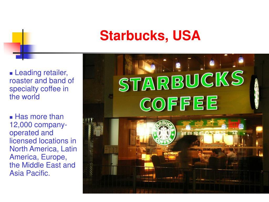 Starbucks, USA