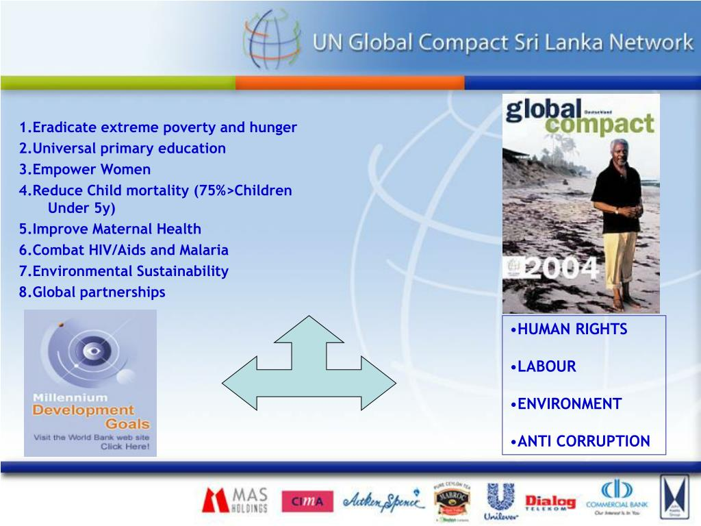 1.Eradicate extreme poverty and hunger