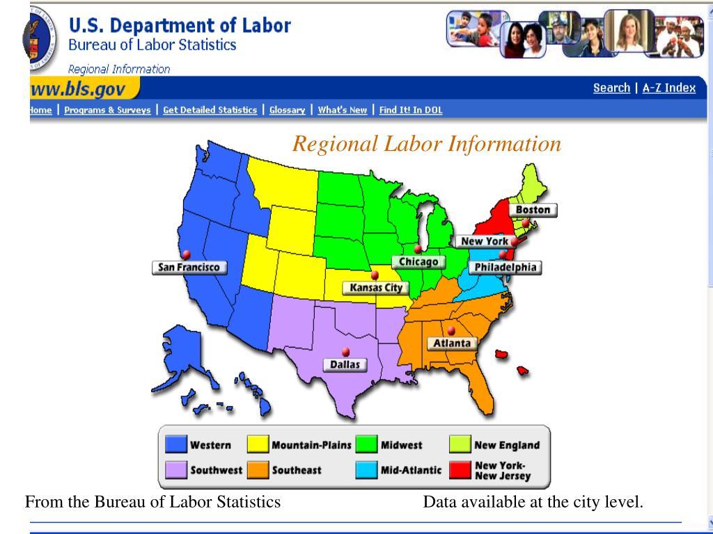 Regional Labor Information