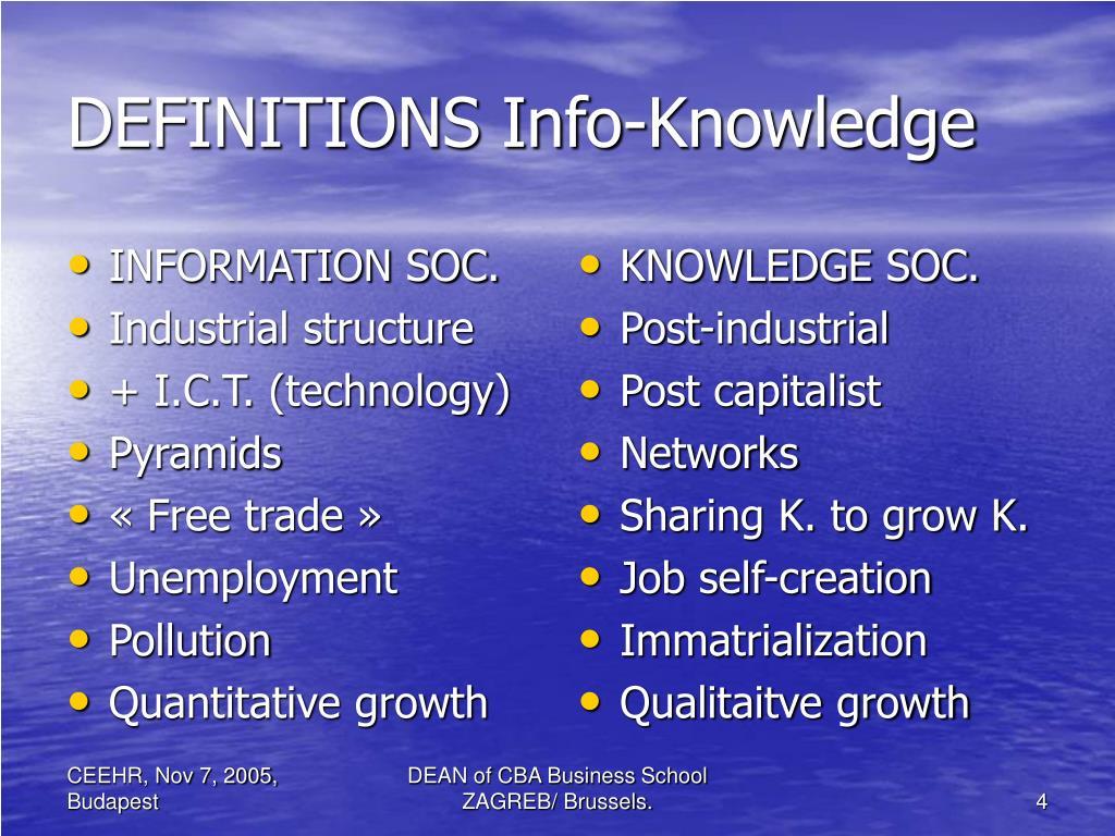 INFORMATION SOC.