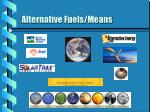 alternative fuels means