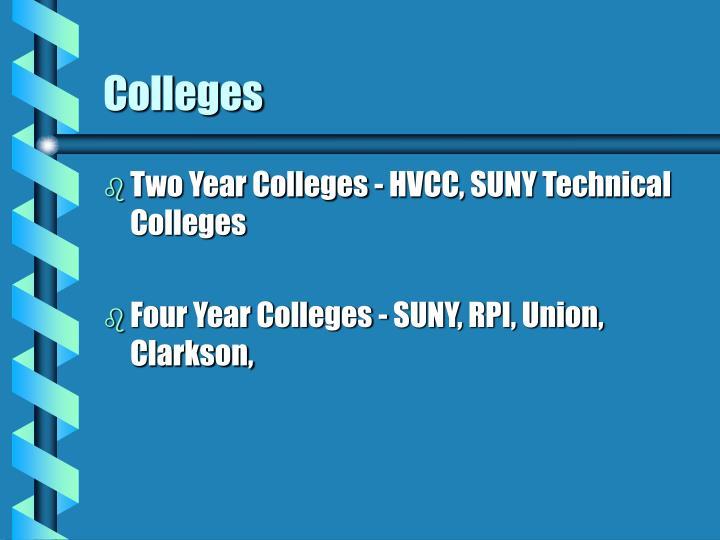 Colleges