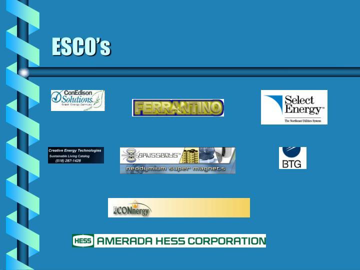ESCO's