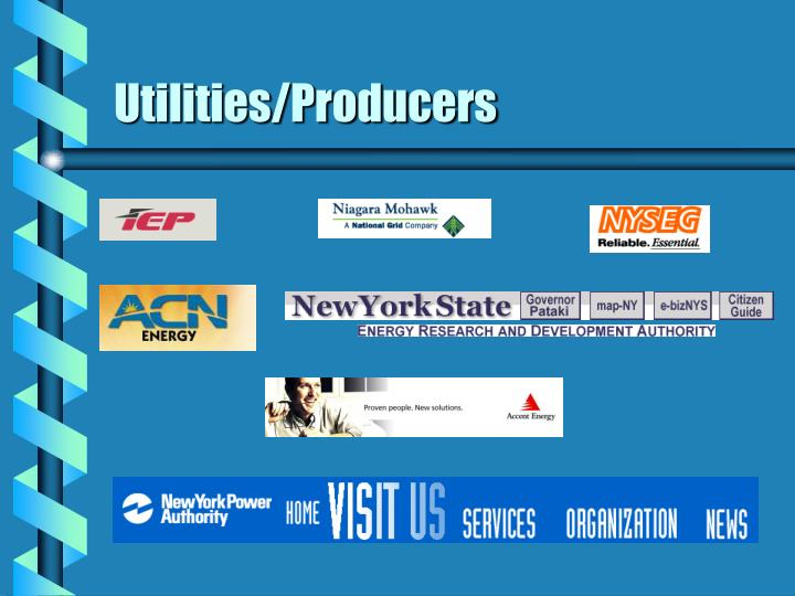 Utilities/Producers