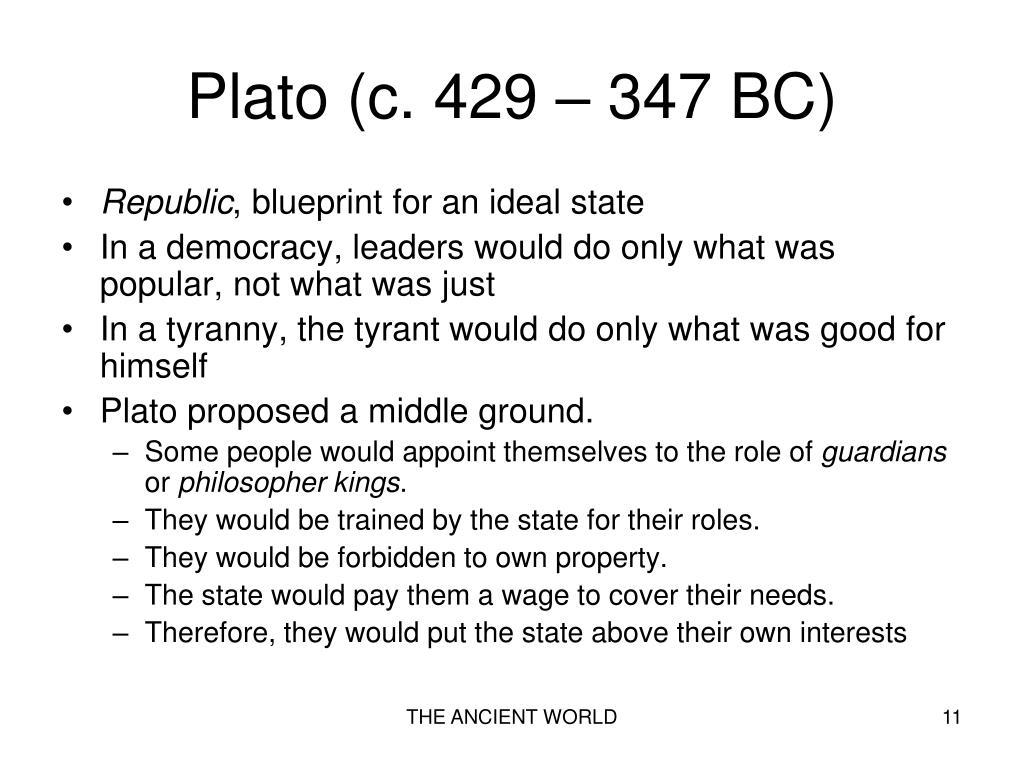 Plato (c. 429 – 347 BC)