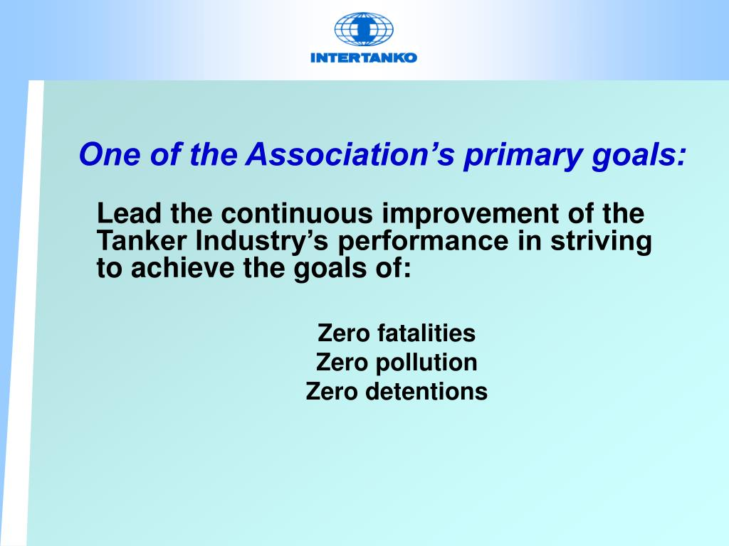 One of the Association's primary goals: