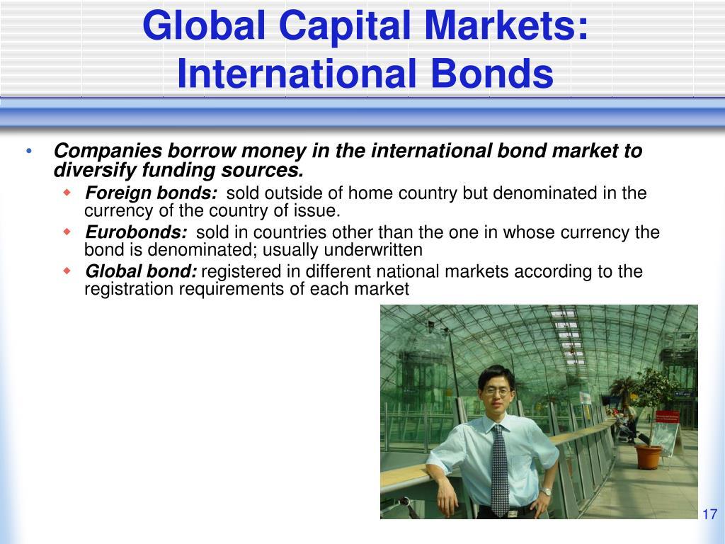 Global Capital Markets:  International Bonds