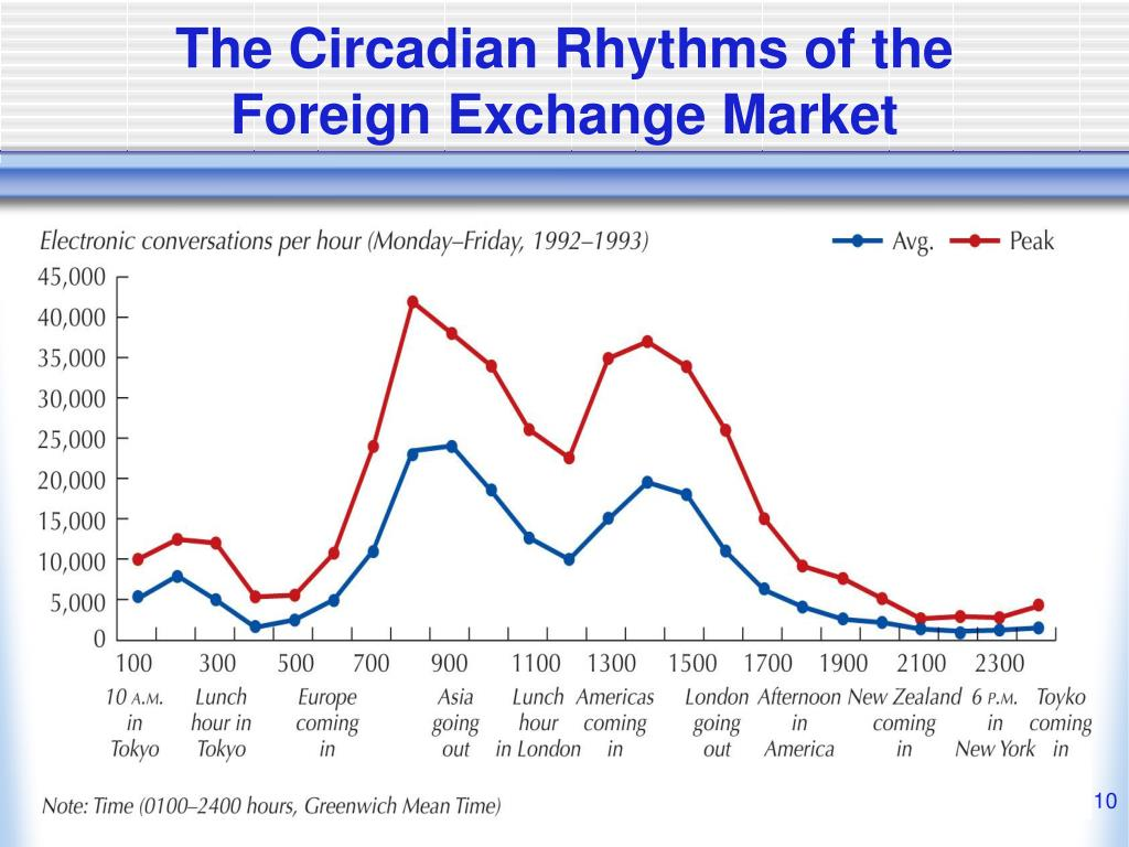 The Circadian Rhythms of the Foreign Exchange Market