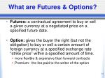 what are futures options