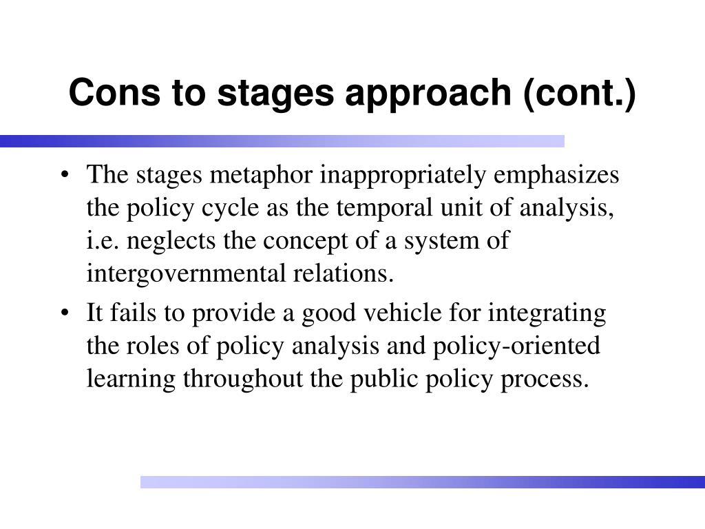 the policy process Course syllabus for polsc431: public policy process please note: this legacy course does not offer a certificate and may contain broken links and outdated information.