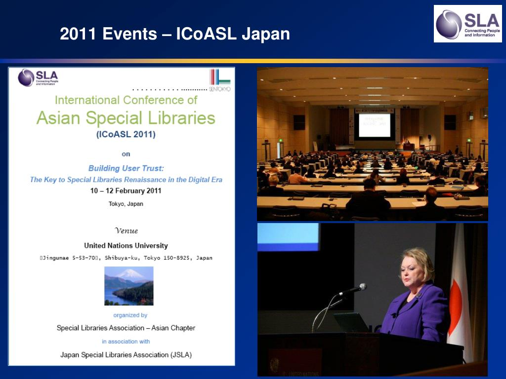 2011 Events – ICoASL Japan