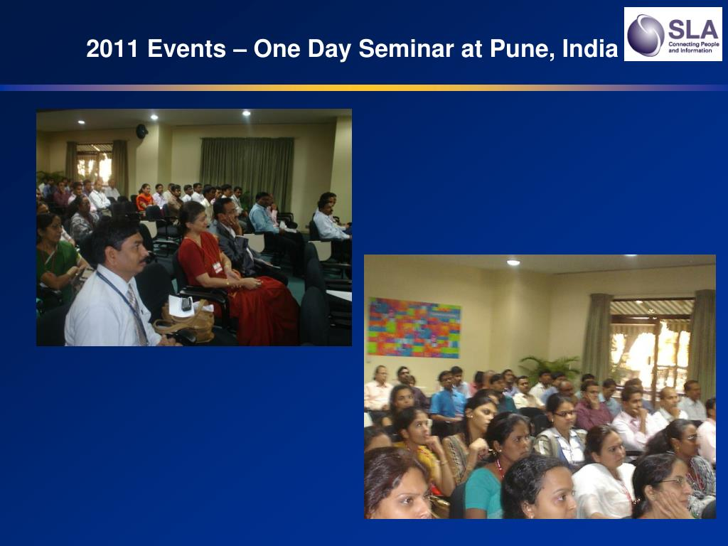 2011 Events – One Day Seminar at Pune, India
