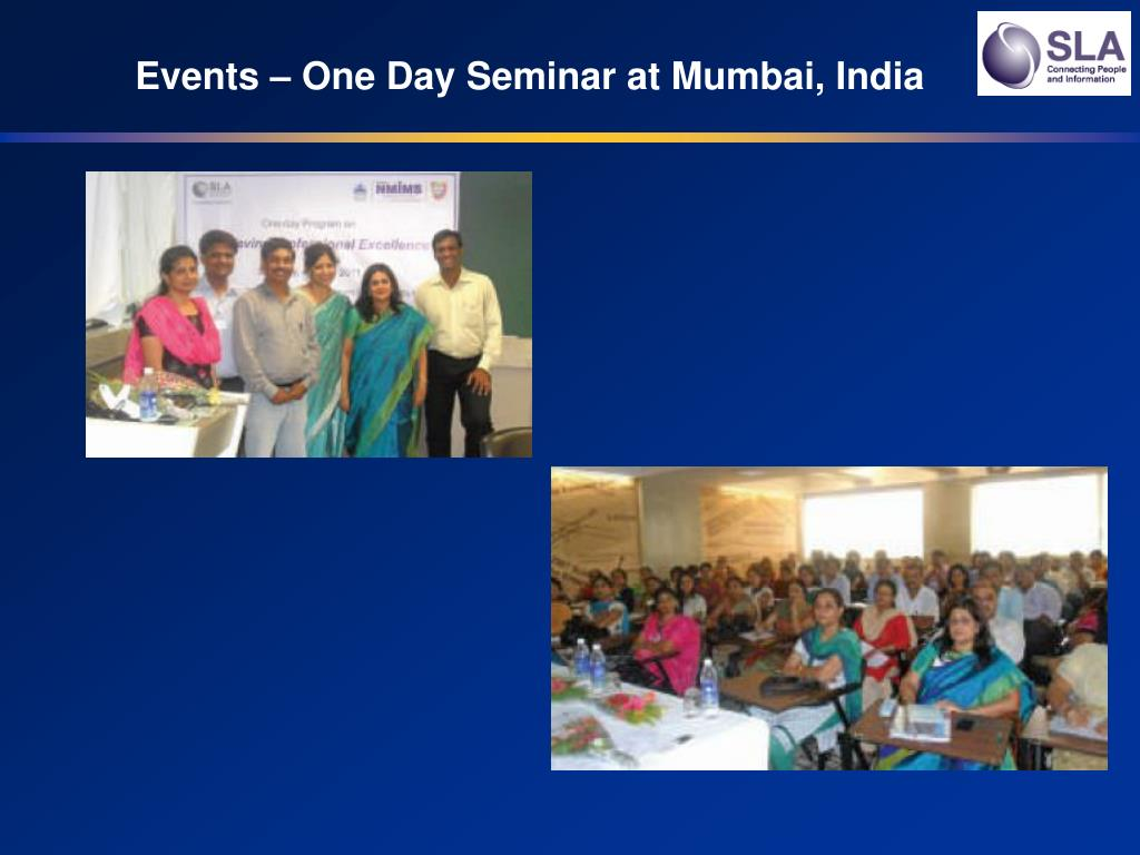 Events – One Day Seminar at Mumbai, India