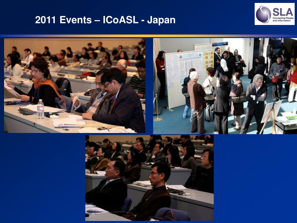 2011 Events – ICoASL - Japan