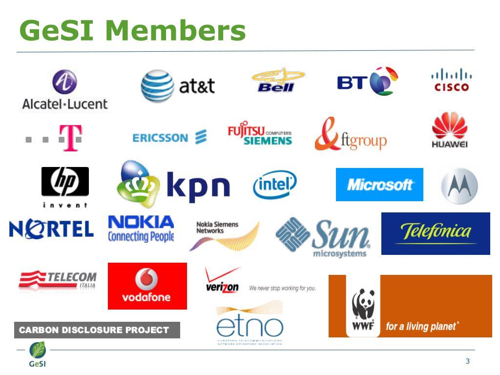 GeSI Members