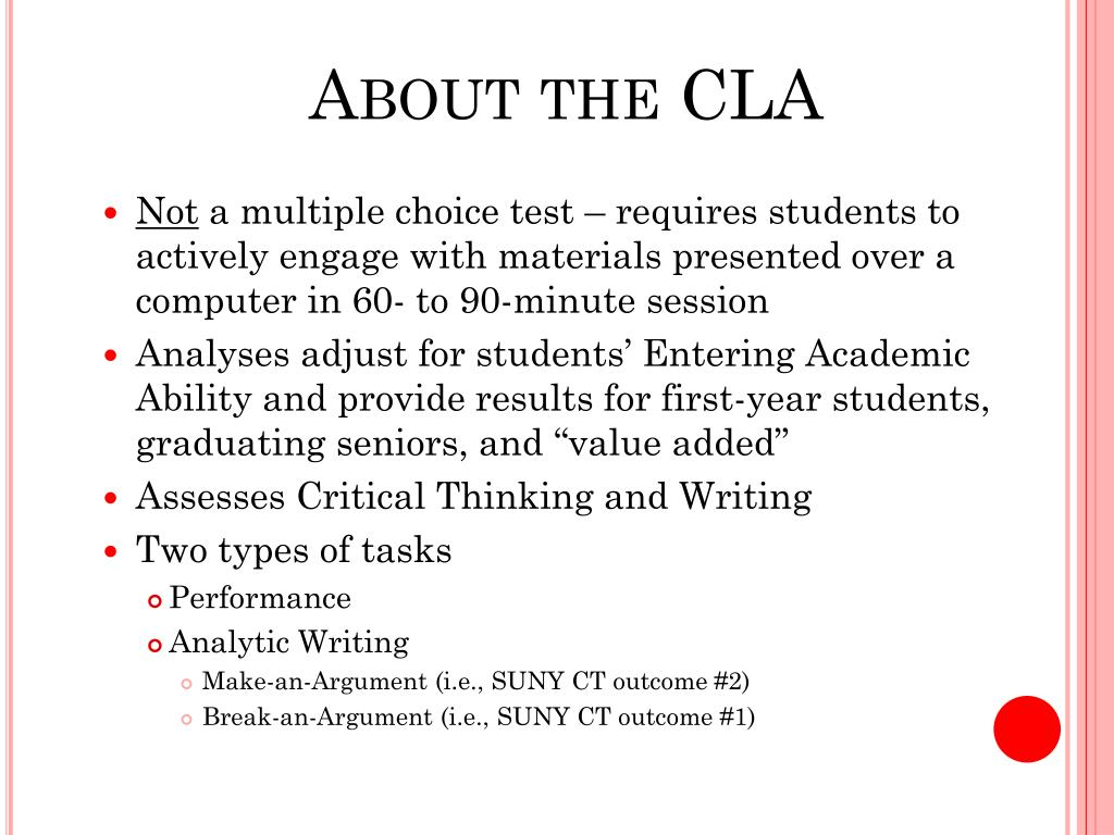 About the CLA
