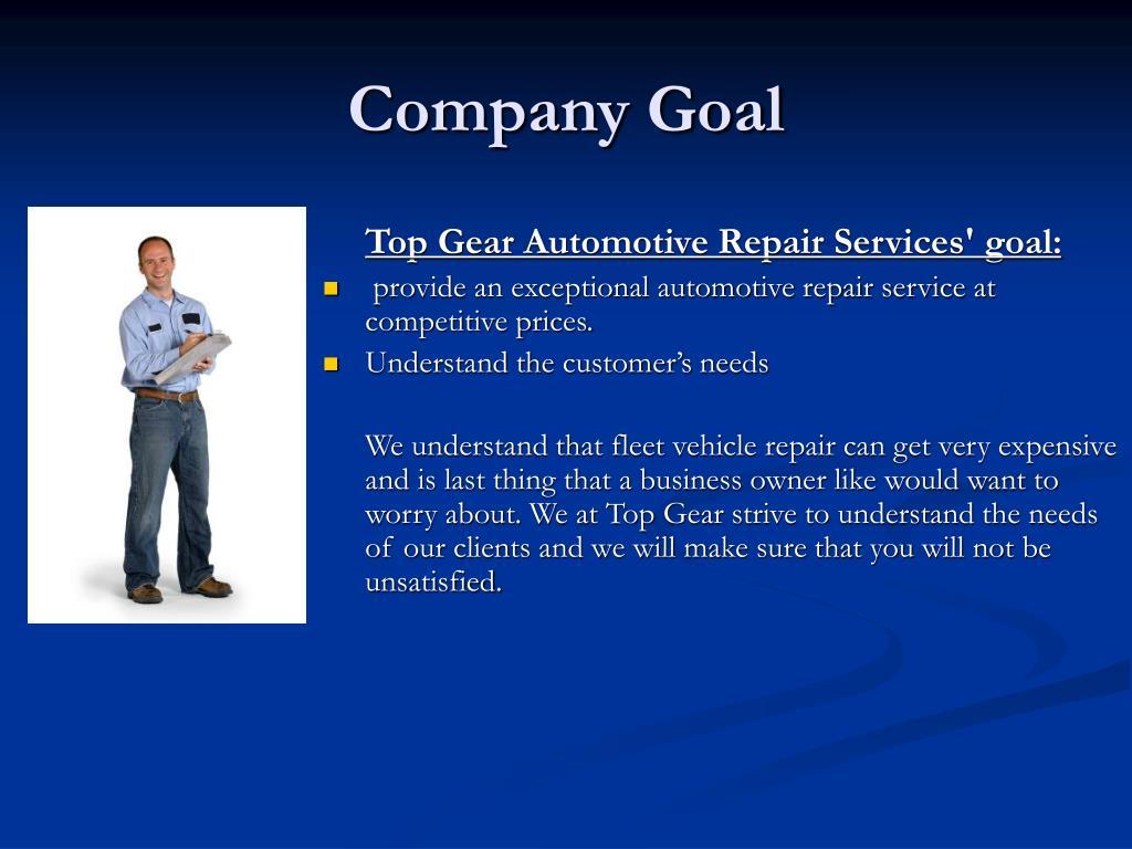 Company Goal