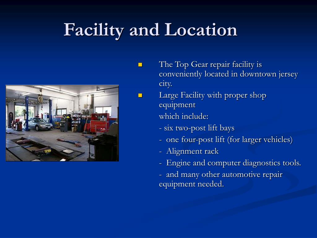 Facility and Location