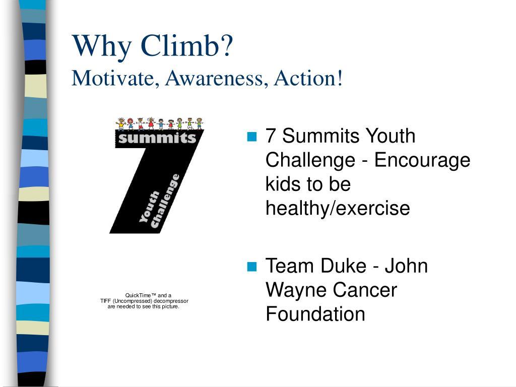 Why Climb?
