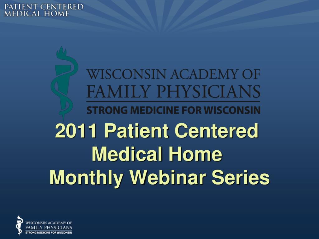 2011 Patient Centered