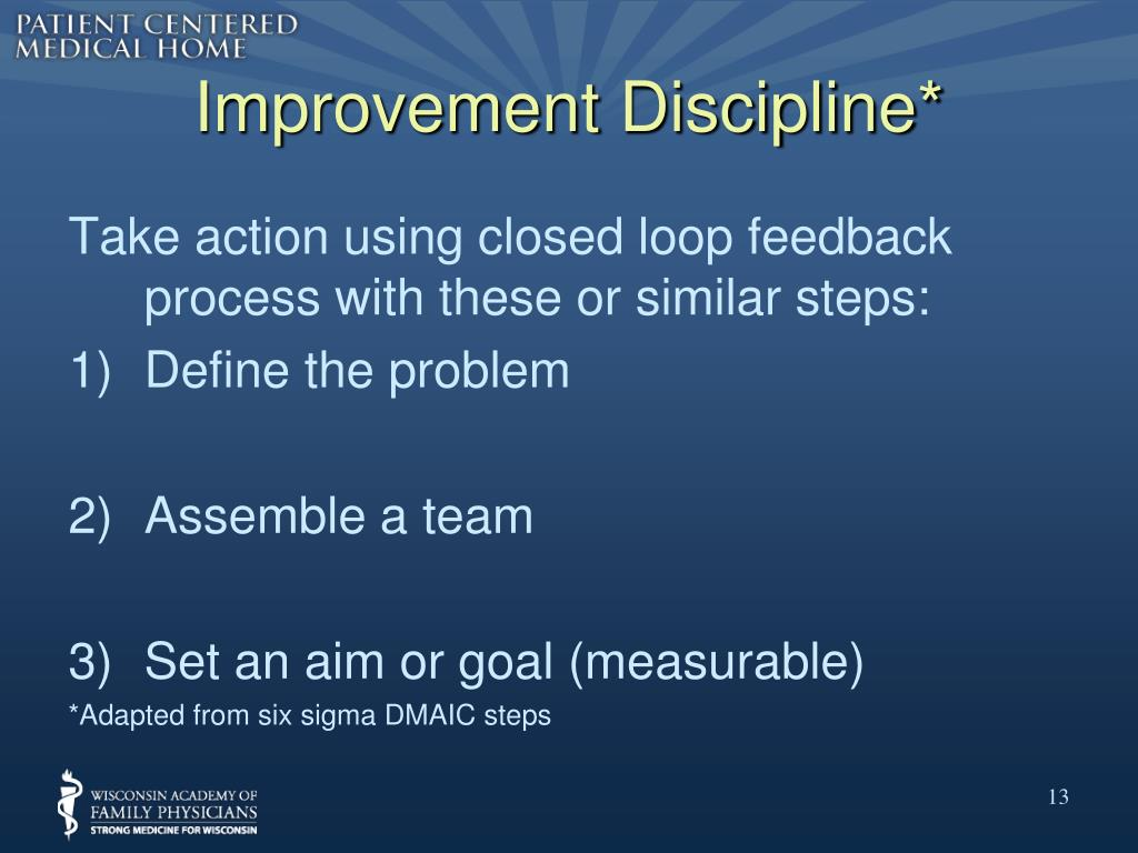 Improvement Discipline*