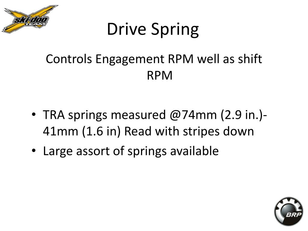 Drive Spring