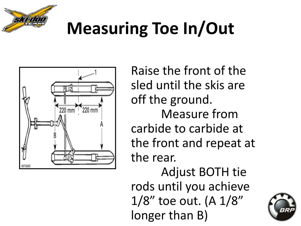 Measuring Toe In/Out