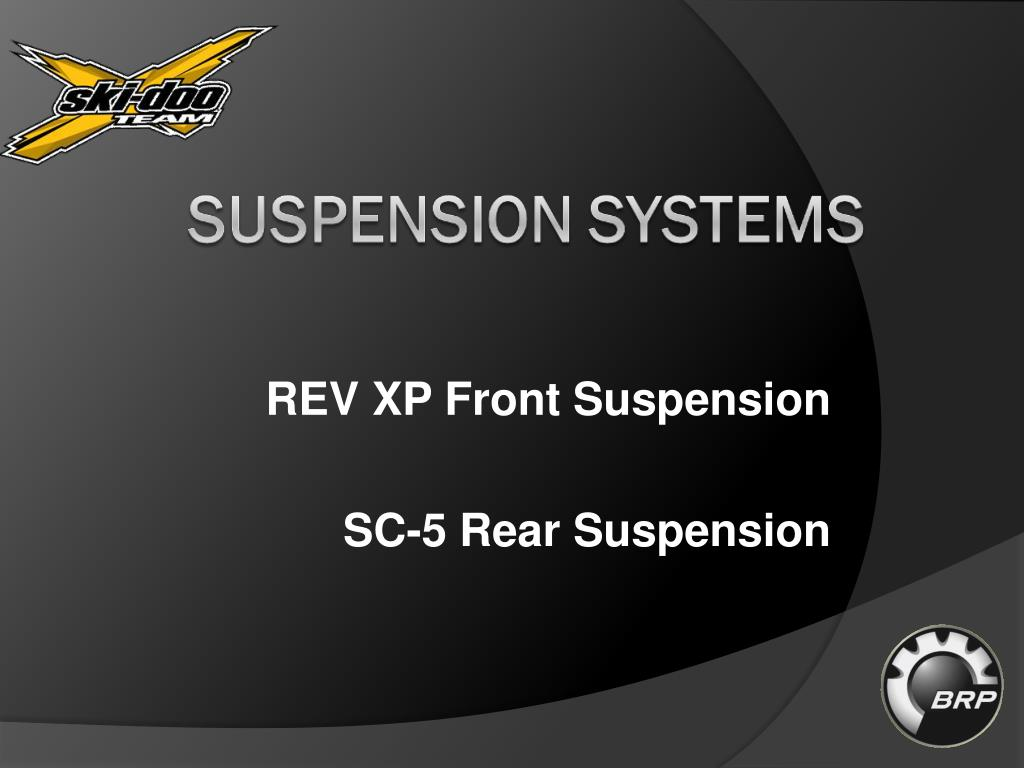 REV XP Front Suspension
