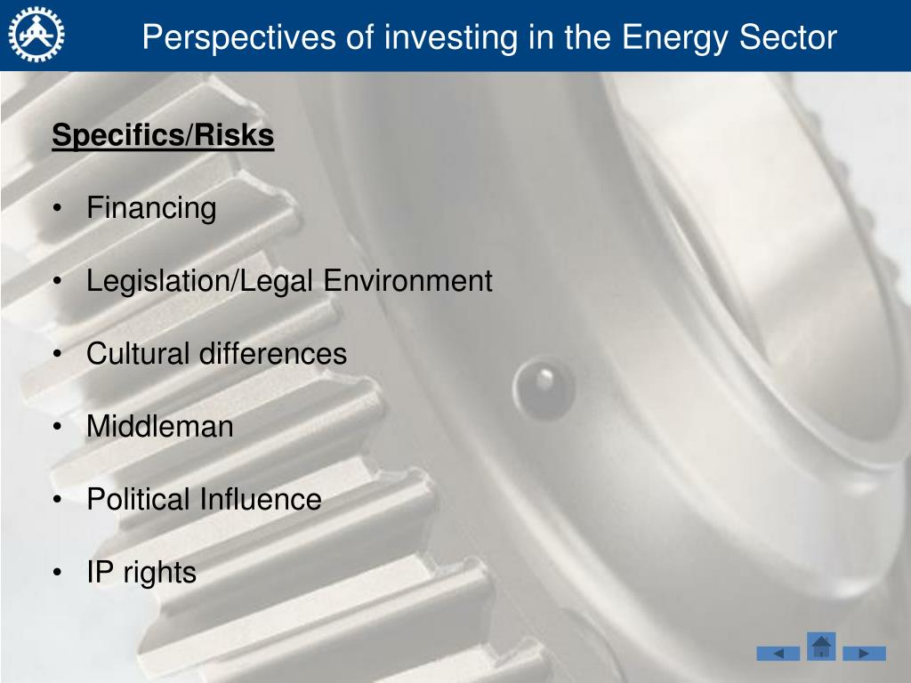 Perspectives of investing in the Energy Sector