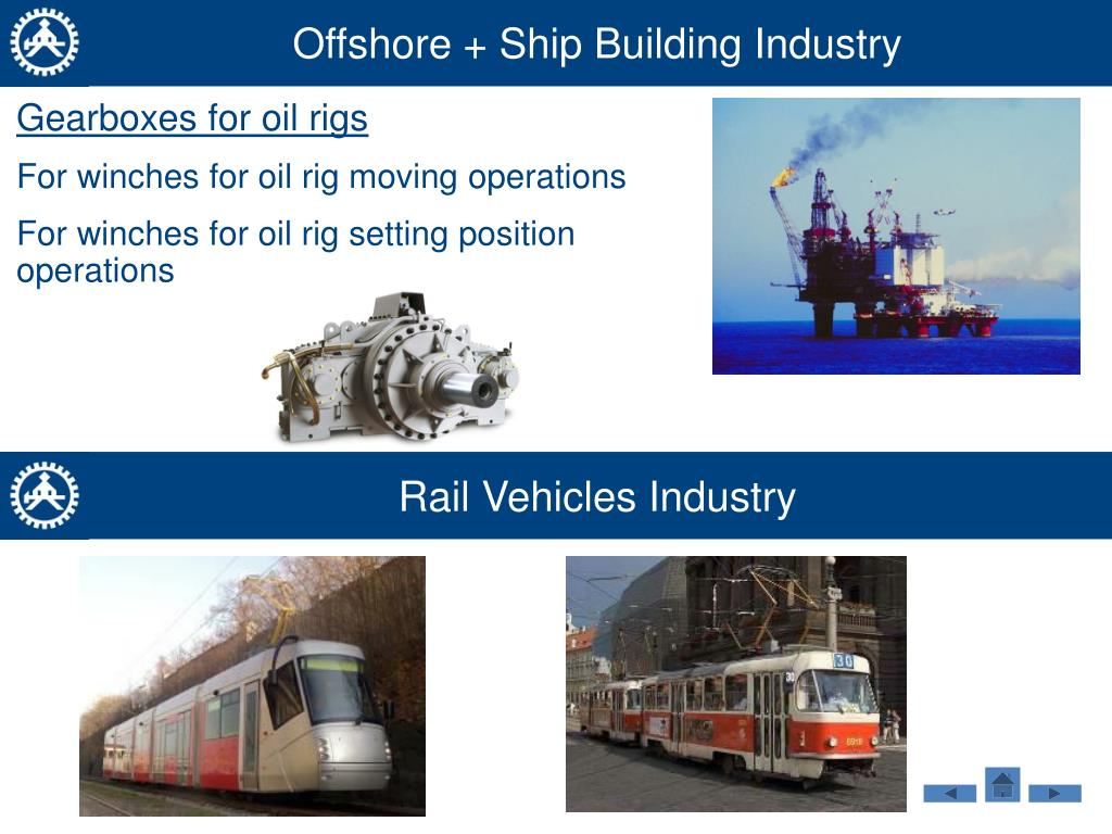 Offshore + Ship Building Industry