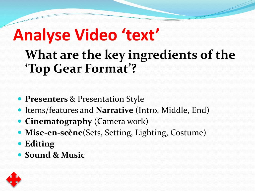 Analyse Video 'text'