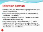 television formats14