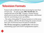 television formats16