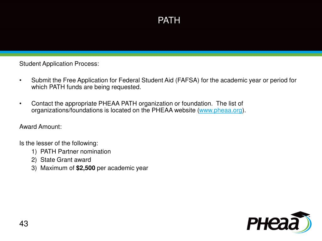 Student Application Process: