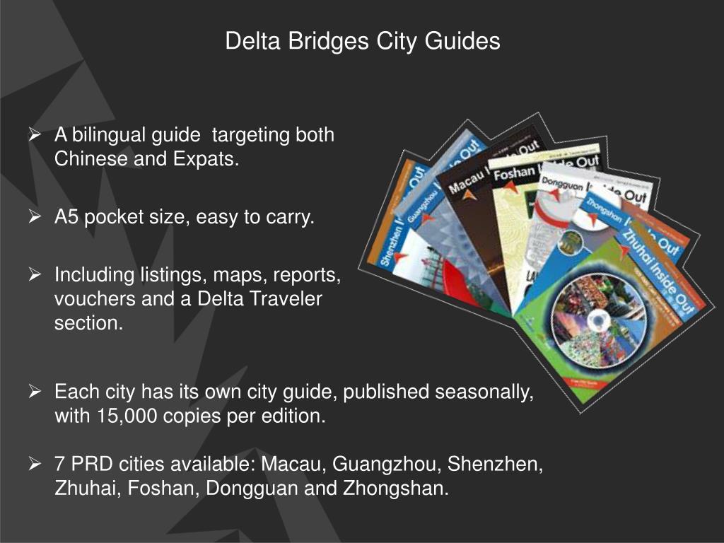 Delta Bridges City Guides