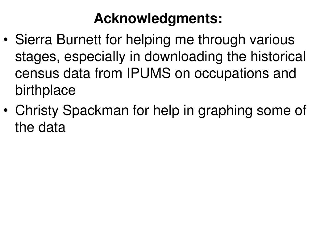 Acknowledgments: