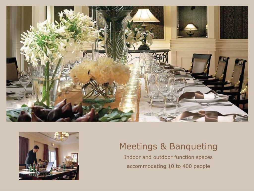 Meetings & Banqueting