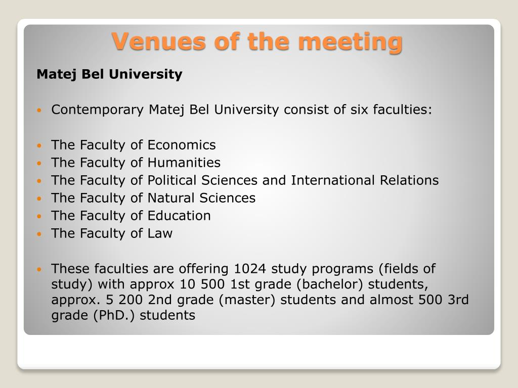 Matej Bel University