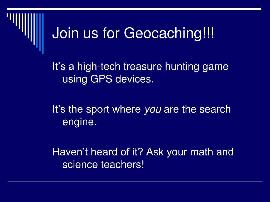 Join us for Geocaching!!!