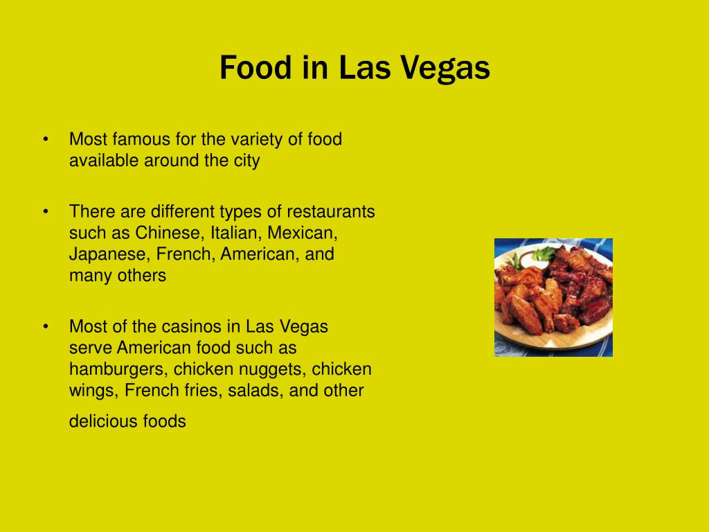 Food in Las Vegas