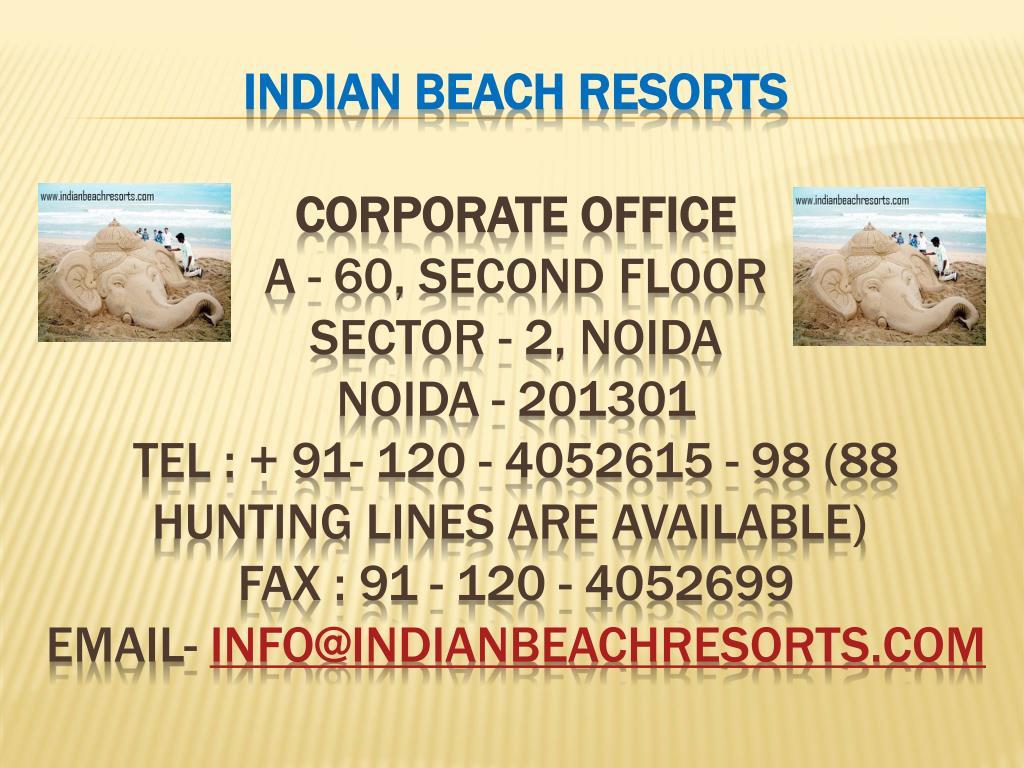 Indian Beach Resorts