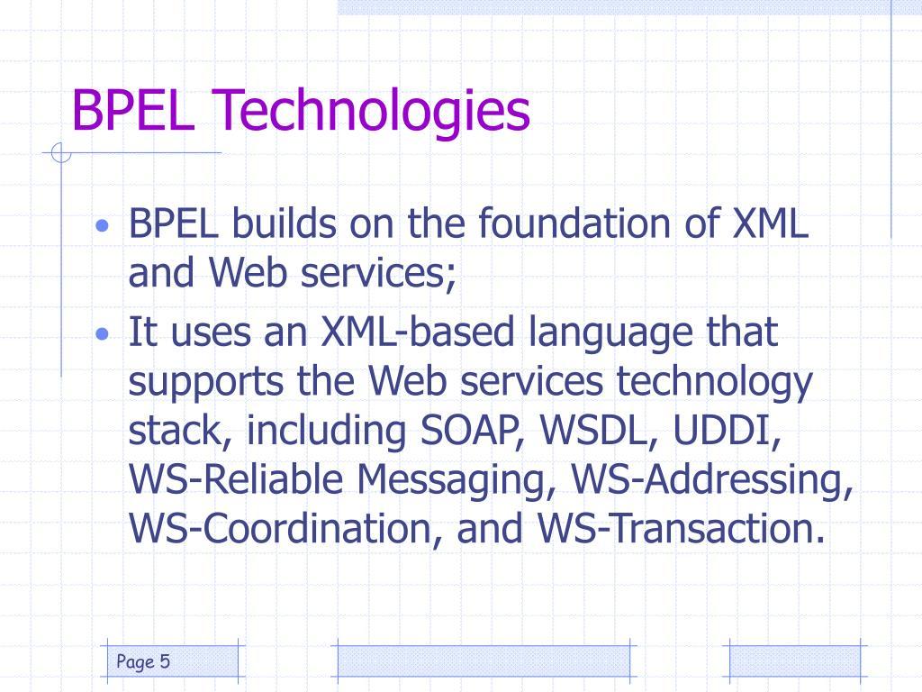 BPEL Technologies